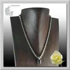 Dyrberg/Kern of Denmark  LAIKIPIA Collection 20 inch Necklace w/ Crystal Pendant