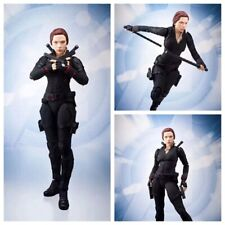SHF The Avengers Black Widow Figure Figurine Statue Model Toy PVC Gift No Box