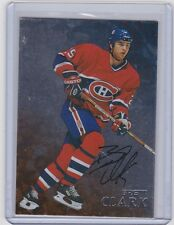 98-99 1998-99 BE A PLAYER BRETT CLARK AUTOGRAPH AUTO 220 MONTREAL CANADIENS