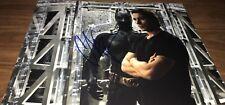 Christian Bale Batman The Dark Knight Mr Wayne Signed 11x14 Photo COA Proof 006