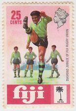 (FA-88) 1971 FIJI 25c women's Foot ball MH