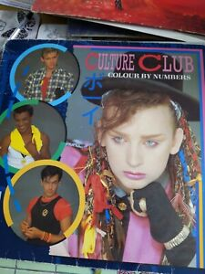 Culture club colour by numbers vinyl