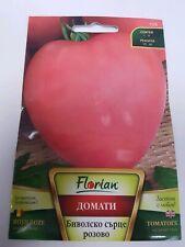 250 g. Oxheart Giant Pink Beef Tomato BULGARIAN 150 SEEDS - ox heart beefsteak