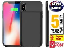 For iPhone X XS XR XS MAX 6000 mAh Rechargeable Portable Charging Battery Case