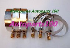 6 x 3 Inch / 76mm ID Stainless Steel T-Bolt Silicone Hose Clamp (79-87mm)