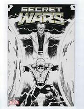 Secret Wars # 1 Stan Lee Ed McGuinness Sketch Variant Cover NM Marvel