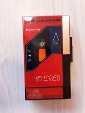 Cassette Player Sanyo M-G25 with original box