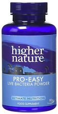 Higher Nature PROBIO-facile 90g probiotici in polvere (pacco da 10)