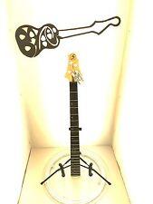 #4879 Samick CR1 Corsair Electric Bass Guitar Neck Part Project UFix Level 4 CBG