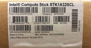 Intel BLKSTK1A32SCL STK1A32SC Compute Stick 2 GB 32 GB DDR3L NEW BROWN BOX
