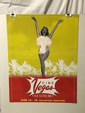 2005 CineVegas Movie Festival Poster with Atomic Pin-Up Girl