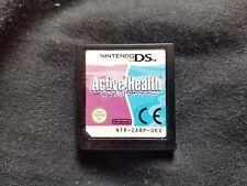 ACTIVE HEALTH WITH CAROL VORDERMAN Nintendo DS Game