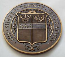 More details for the surrey county bakery & confectionery exhibition cased 1955 bronze medal