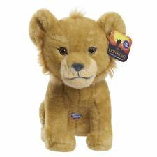"NEW DISNEY THE LION KING SIMBA 9"" TALKING COLLECTIBLE BEAN PLUSH FREE SHIPPING"
