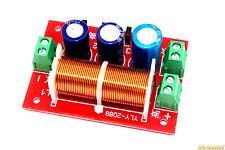 2-Wege Frequenzweiche Crossover 400W 4-16Ω Hifi / PA Lautsprecher -Verstellbar-