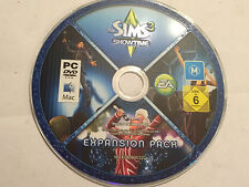 PC MAC DVD-ROM ONLY EXPANSION PACK SHOWTIME   for THE SIMS 3
