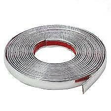 a-10mm suits MG / ROVER Chrome Pinstripe Window Edge Wheel Arch 5m Strip