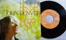 "JOHN DENVER 7""PS Spain 1977 My sweet lady"
