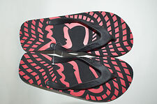 Fox Racing Men Flip Flop Black  with Red  color graphic printed size10