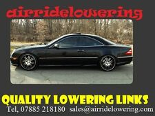 MERCEDES CL W215 Fully Adjustable Lowering Links module - free shipping