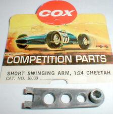 CHEETAH Original Magnesium Short Swinging Drop Arm COX #16039 Vintage Clear coat