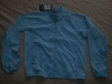 Adidas Women's Medium Running Golf ClimaProof Full Zip Light Blue Jacket S