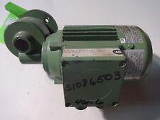 Will Getr Motor 100-E501-102  .09kw  .65cos  9806481Nr  *New*