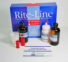 DENTURE CHAIRSIDE RELINE TISSUE CONDITIONER ACRYLIC HARD KIT PROFESSIONAL SYSTEM