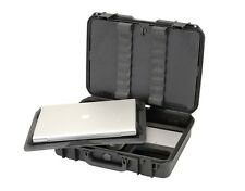 Black SKB Case. Waterproof Laptop Case. & Pelican TSA 1490 Lock.