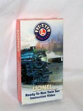 Lionel Trains VHS Ready to Run Train SET instructional tape Sealed