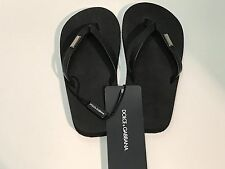 NEW Dolce & Gabbana D&G Boys Black Kids SANDALS LDFZI4 Sz Eur 31 US 13 RTL $125