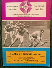 1979 GAA NHL Final Galway v Tipperary Programme