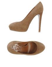 Rene Caovilla Beige Pump Shoes Size : IT40/US9.5-10
