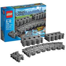 Lego City 7499 Tren de pista flexible y recto SET-Nuevo Sellado