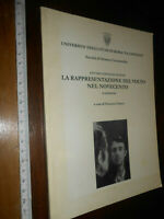 LIBRO:La Rappresentazione del Volto nel Novecento. Atti del Convegno di Studi.