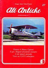 Ali Antiche - La rivista del GAVS - N° 27 Ottobre - Dicembre 1992