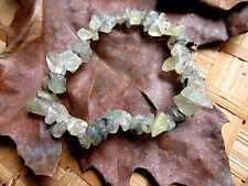 59-Bracelet chips en prehnite-Apaisement-Spiritualité-Chakra