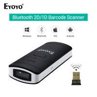 Eyoyo Barcode Scanner 2D/1D/QR Bar Code Reader Large Capacity for Supermarket