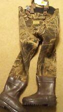 Gander Mountain Mens Snow Suit Cold Storage Chest Camo 600g 3.5mm Size 10 Stout