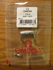 NUOVO in scatola - omega 18mm acciaio inox fibbia - PEZZO no. 94511803