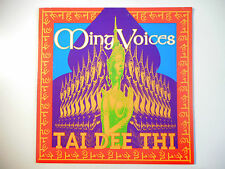 "MAXI 12"" POP 80s  ▒ MING VOICES : TAI DEE THI ( CLUB MIX - 5'34 )"