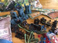 Rare jeu de societe SIEGE : A l'attaque du chateau MB en boite 1993