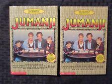 1995 JUMANJI by Todd Strasser FN 6.0 1st SBS Paperback  LOT of 2
