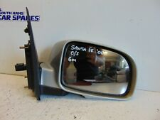 Hyundai Santa Fe 06-12 Drivers Right Electric Door Wing Mirror Silver 6M 5 Pins