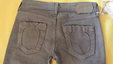 REPLAY DEBBYE Women's Straight Leg Brown Jeans ITALY Mod:WX529.034 Size W28 L34