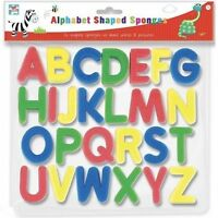 26 Pack Sponge Foam Letters Floating Bath Tub Swimming Alphabet Learning Toys UK