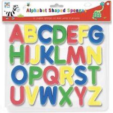 26 Paquet Éponge Mousse Lettres Flottant Baignoire Natation Alphabet