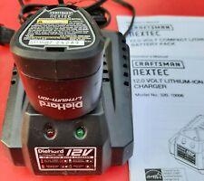 Craftsman Nextec 12 Volt Charger 320.10006 w/ 320.11221 Lithium Ion Battery