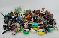 Huge Lot of (66) McDonald's Happy Meal Children's Toys Batman Scooby Doo Flubber