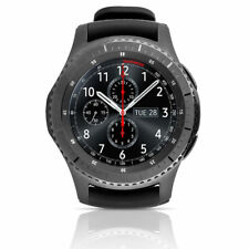 SAMSUNG GALAXY GEAR S3 FRONTIER 46mm BLACK Stainless R760